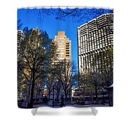 A Spring Day At Rittenhouse Square Shower Curtain