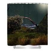 A Sprinkling Of Stars Shower Curtain