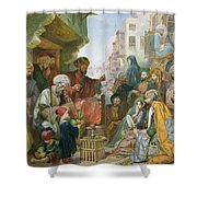 A Street In Cairo Shower Curtain