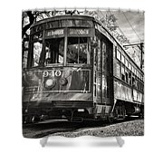 A Streetcar Named St Charles Shower Curtain