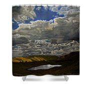 A Summer Day On Cottonwood Pass Shower Curtain