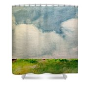 A Summerday Shower Curtain