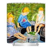 A Summers Day Shower Curtain