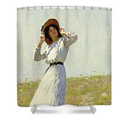 A Summe's Day Shower Curtain