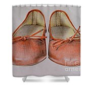 A Sunday Walk Shower Curtain