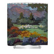 A Sunny Afternoon In Santa Barbara Shower Curtain