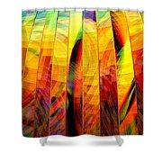 A Sunny Autumn Day  Shower Curtain
