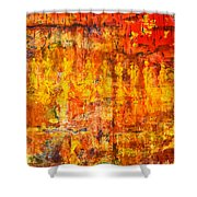 A Sunset Of Angels Shower Curtain