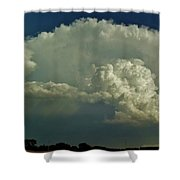 A Supercell Is Born Shower Curtain
