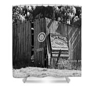 A Telluride Welcome Shower Curtain