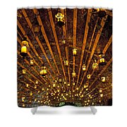A Thousand Candles - Tunnel Of Light Shower Curtain