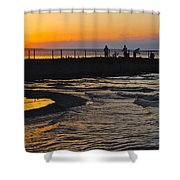 A Time To Reflect Shower Curtain