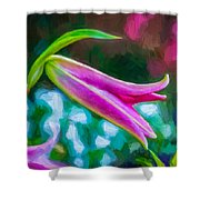 A Touch Of Class 2 - Impasto Shower Curtain