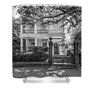 A Touch Of Class Bw Shower Curtain