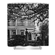 A Touch Of Class Monochrome Shower Curtain