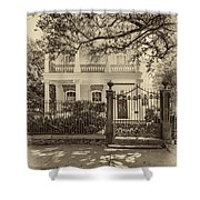 A Touch Of Class Sepia Shower Curtain