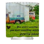 A Touch Of Country Shower Curtain