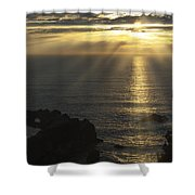 A Touch Of Heaven Shower Curtain by Sandra Bronstein