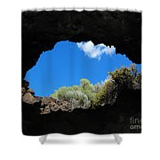 A Touch Of Sky Shower Curtain