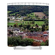 A Town In France Shower Curtain