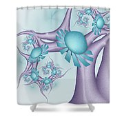 A Tree In A Wonderland 2 Shower Curtain