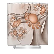 A Tree In A Wonderland Shower Curtain