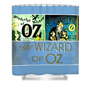 A Tribut To The Oz Shower Curtain