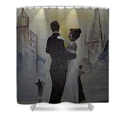 A Tribute To Jack Dance Under A Chessie Moon Shower Curtain