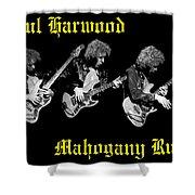 A Trinity Of Harwood Shower Curtain