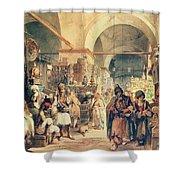 A Turkish Bazaar Shower Curtain