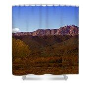 A Utah Landscape In Autumn Shower Curtain