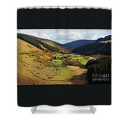 Natural Beauty In Wicklow, Ireland Shower Curtain