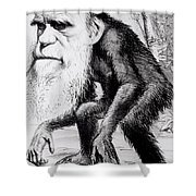 A Venerable Orang Outang Shower Curtain