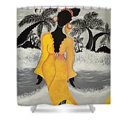 A Version Of Self Shower Curtain