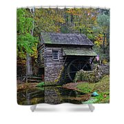 A Very Old Grist Mill Shower Curtain