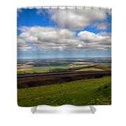 A View From Cabbage Hill Shower Curtain