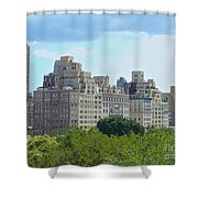 A View From The Met Shower Curtain