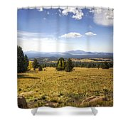 A View From The Peaks  Shower Curtain