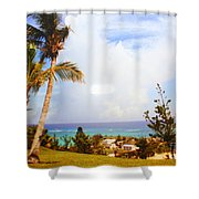 A View Of Bermuda Shower Curtain