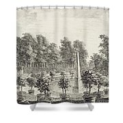 A View Of The Orangery Shower Curtain