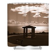 A View Of The Pacific Shower Curtain