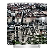 A View Of Vienne France Shower Curtain