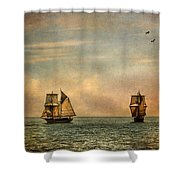 A Vision I Dream Shower Curtain by Dale Kincaid