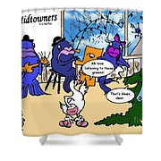 A Visit To The Blues Bar Shower Curtain