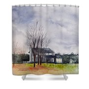 A Voice Of Winter Shower Curtain