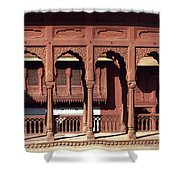 A Walk Among The Arches.. Shower Curtain