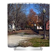 A Walk Down History Lane Shower Curtain