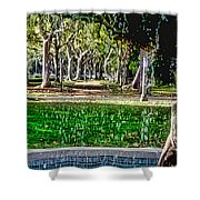 A Walk In The Park By Diana Sainz Shower Curtain