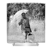 A Walk In The Sun Shower Curtain