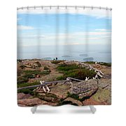 A Walk On The Mountain Shower Curtain